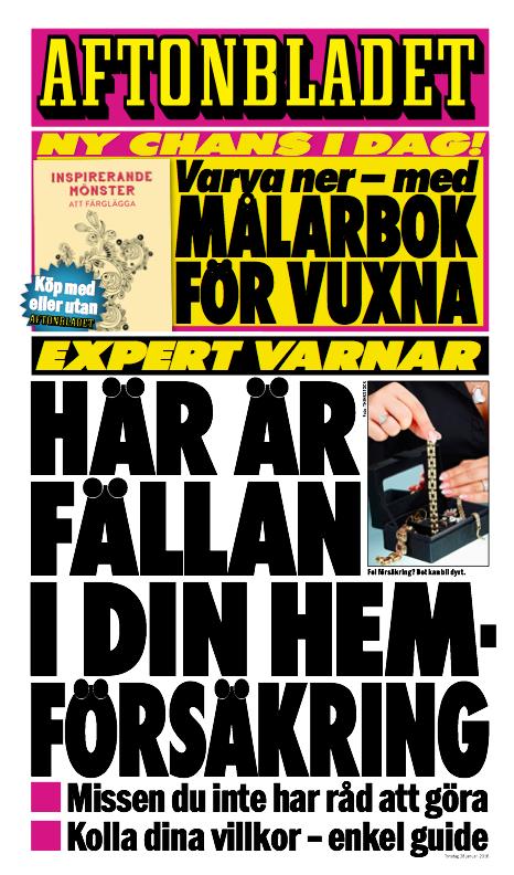 Dagens löp på Aftonbladet